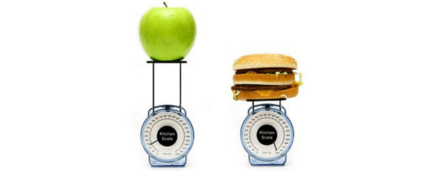 Apple Burger Scales Adrenal Fatigue Leaky gut Thyroid Jenn Malecha