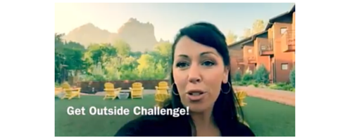 Get Up & Get Outside Challenge Adrenal Fatigue Leaky gut Thyroid Jenn Malecha