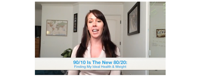 90/10 is the new 80/20 Adrenal Fatigue Leaky gut Thyroid Jenn Malecha