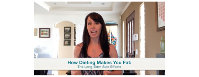 How Dieting Makes You Fat Adrenal Fatigue Leaky gut Thyroid Jenn Malecha