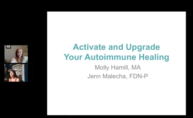 Activate And Upgrade Your Autoimmune Healing Adrenal Fatigue Leaky gut Thyroid Jenn Malecha