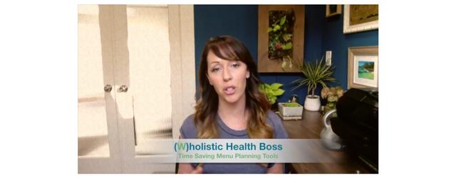 Time Saving Menu Planning Tool Adrenal Fatigue Leaky gut Thyroid Jenn Malecha