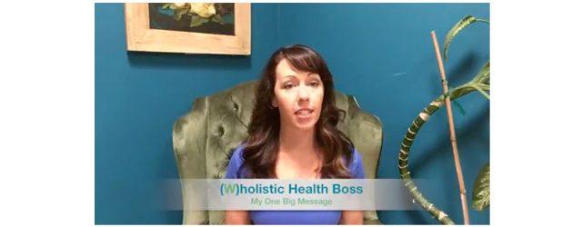 My One Big Message Adrenal Fatigue Leaky gut Thyroid Jenn Malecha