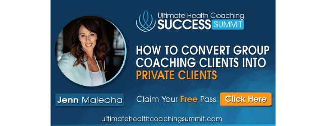 Ultimate Health Coaching Summit Adrenal Fatigue Leaky gut Thyroid Jenn Malecha