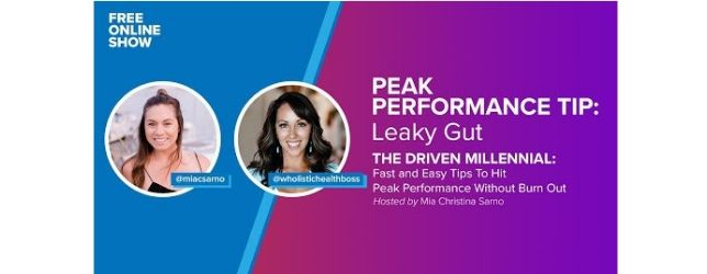 WHB-Peak Performance Tip Adrenal Fatigue Leaky gut Thyroid Jenn Malecha