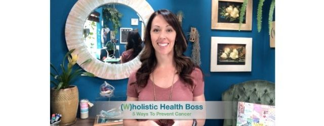 5 Ways To Prevent Cancer Adrenal Fatigue Leaky gut Thyroid Jenn Malecha