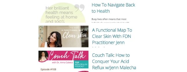YourSummerPlaylist Adrenal Fatigue Leaky gut Thyroid Jenn Malecha